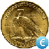 US 10 Dollars Coin Gold Value EUR in Real Time