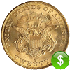 US 20 Dollars Coin Gold Value USD in Real Time
