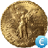 50 Pesos Coin Gold Value EUR in Real Time