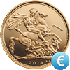 Sovereign Coin Gold Value EUR in Real Time